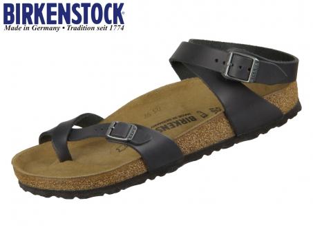 Birkenstock Yara 1011442 black Fettleder