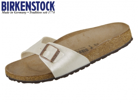 Birkenstock Madrid 940153 graceful pearl white Birkoflor