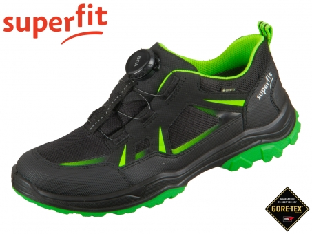 superfit Jupiter 1-009069-0000 schwarz grün Tecno Textil