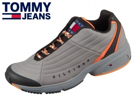 Tommy Hilfiger Heritage Mix Sneaker EM0EM00585 CDZ pewter grey
