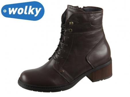 Wolky Red Deer 0126020-305 dark brown Velvet Leather