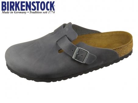 Birkenstock Boston 59461 black oiled leather