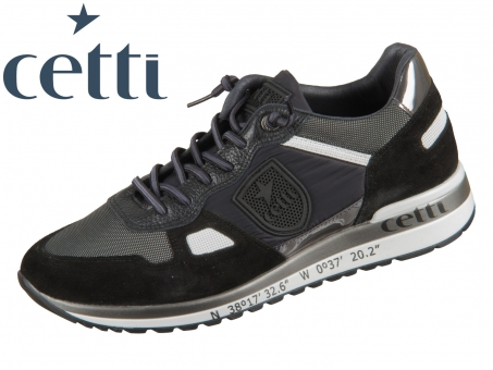 Cetti C1216 black Leder