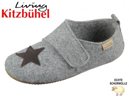 Living Kitzbühel 3642-610 grau reine Schurwolle