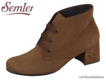 Semler Mira M44023042047 cognac Samt-Chevro