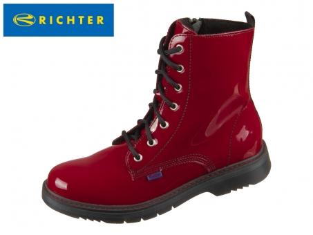 Richter 4672-8161-4500 rosso Lackleder