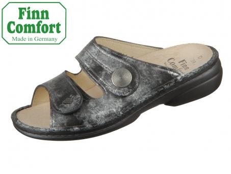 Finn Comfort Sansibar 02550-695218 grey Reflex