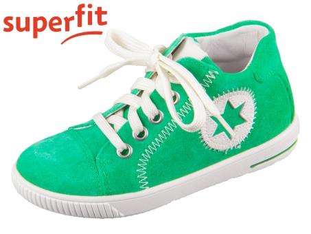 superfit Moppy 1-000348-7000 grün weiss Velour Nappa