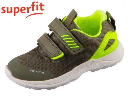 superfit Rush 1-609207-7000 grün gelb Textil Tecno