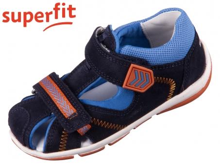 superfit Freddy 1-609145-8010 blau Velour Textil