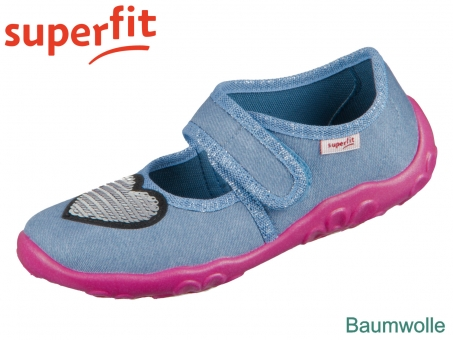superfit Bonny 1-000280-8020 hellblau Textil