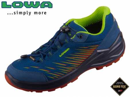Lowa Zirrox GTX low 640119-650119-6021 blau orange