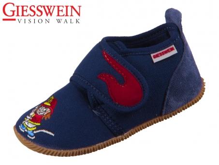Giesswein Serfaus 44707-548 dunkelblau Baumwolle