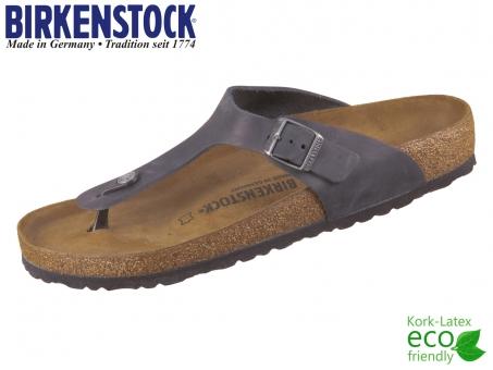 Birkenstock Gizeh 845251 black Fettleder Oiled Leather