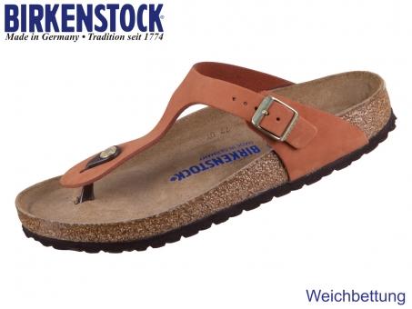 Birkenstock Gizeh 1019012 pecan Nubuck Leather