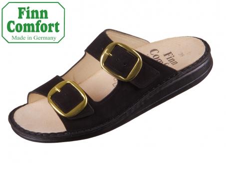 Finn Comfort Lipari 01545-007099 schwarz Nubuk