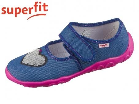 superfit Bonny 1-000280-8000 blau-jeans Textil