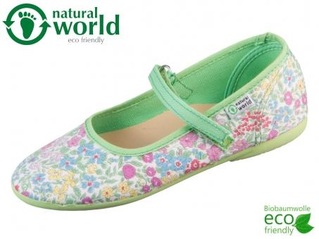 natural world Frances 96042-47 verde organic cotton