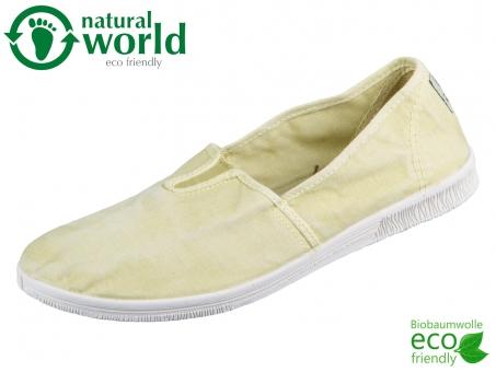 natural world 615E-675 limoncello Baumwolle organic cotton