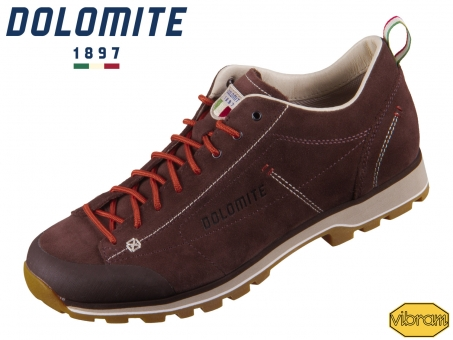 Dolomite Cinquantaquattro Low 247950-11370 dark brown red Nubuk