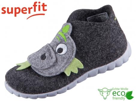 superfit Happy 1-800295-0000 schwarz Wollfilz