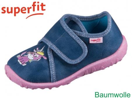 superfit Spotty 1-009254-8050 blau Textil