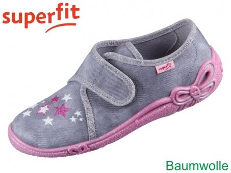 superfit Belinda 1-000259-2010 grau Textil