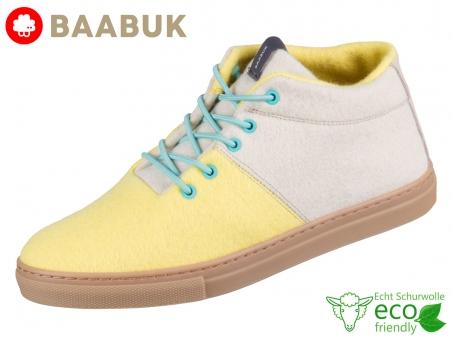 BAABUK Sky Wooler Lemon Cream SN02-LE-CR Lemon Cream Portuguese Wool