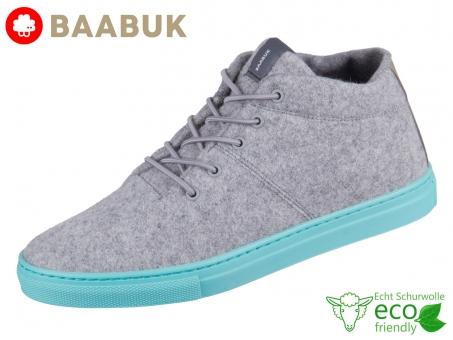 BAABUK Sky Wooler Concreta Aqua SN02-CO-AQ Concrete Aqua Portuguese Wool