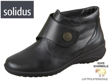 Solidus Karo 42016 00701 schwarz Vitello Perllack