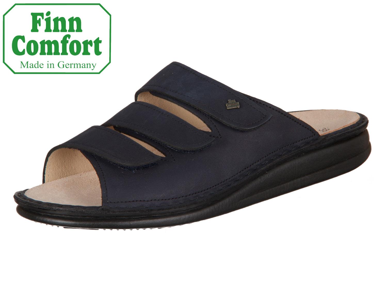 noch eine Chance Temperament Schuhe fairer Preis Finn Comfort Korfu 01508-046046 marine Buggy