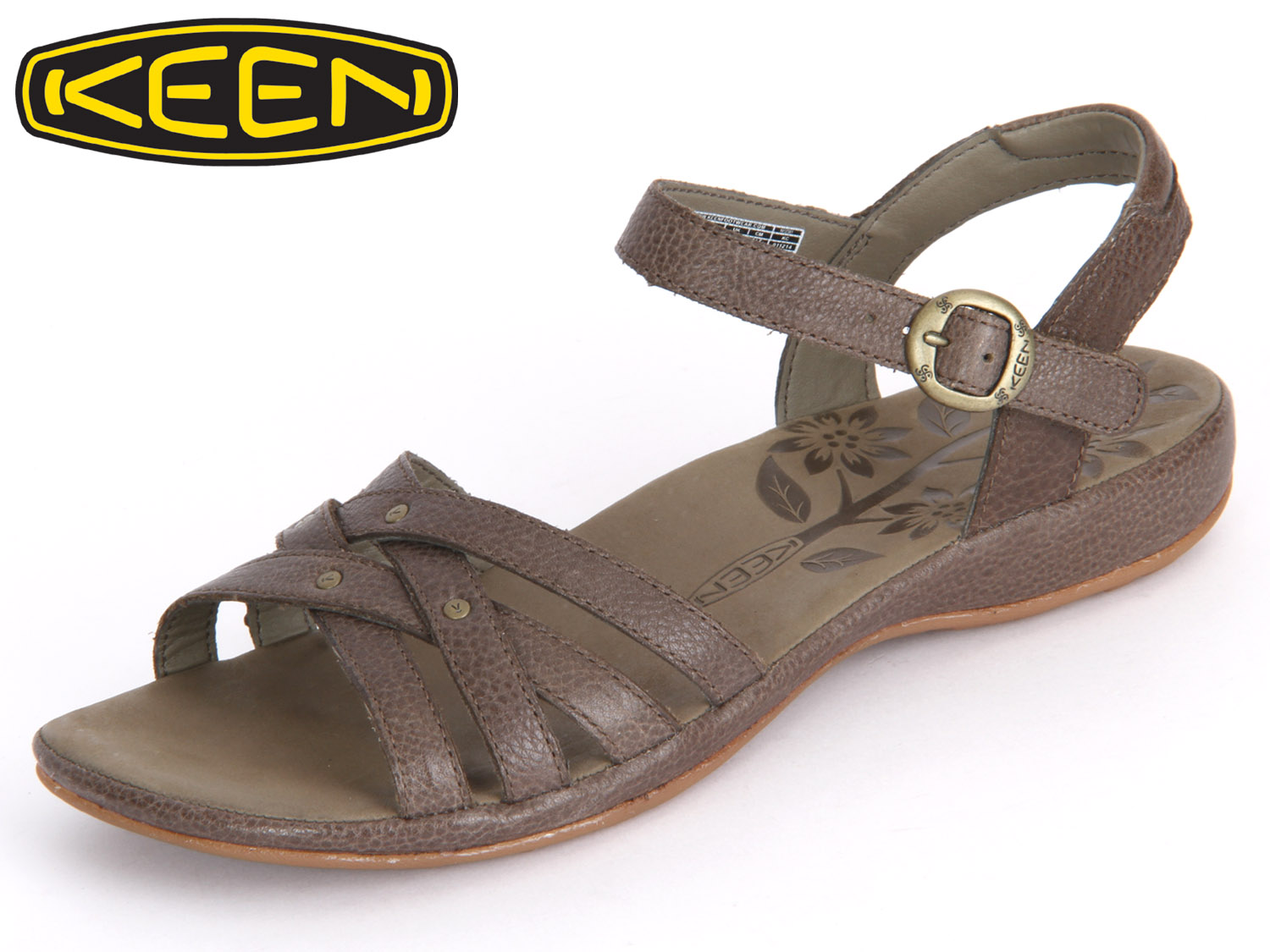 buy online ad933 2bc1b Keen City of Palms Sandal 1012381 cascade brown