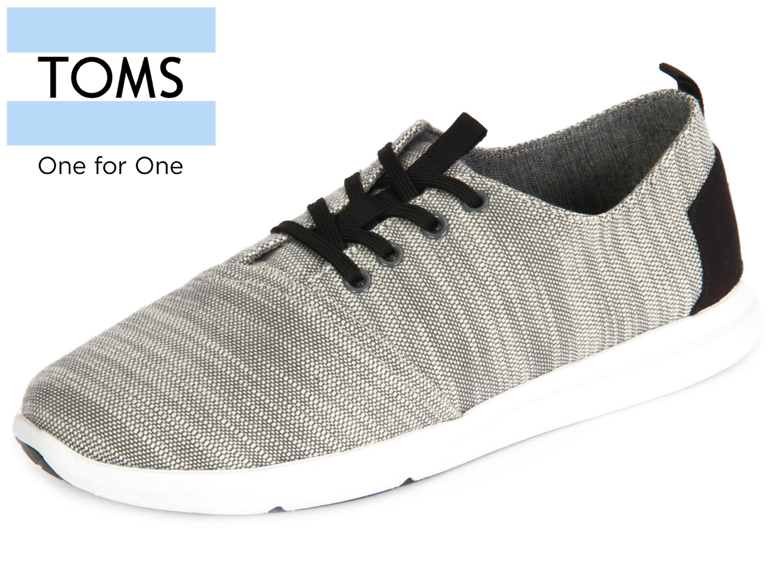 46cf9e83bbfb1b TOMS Del Rey 10008109 light grey Woven