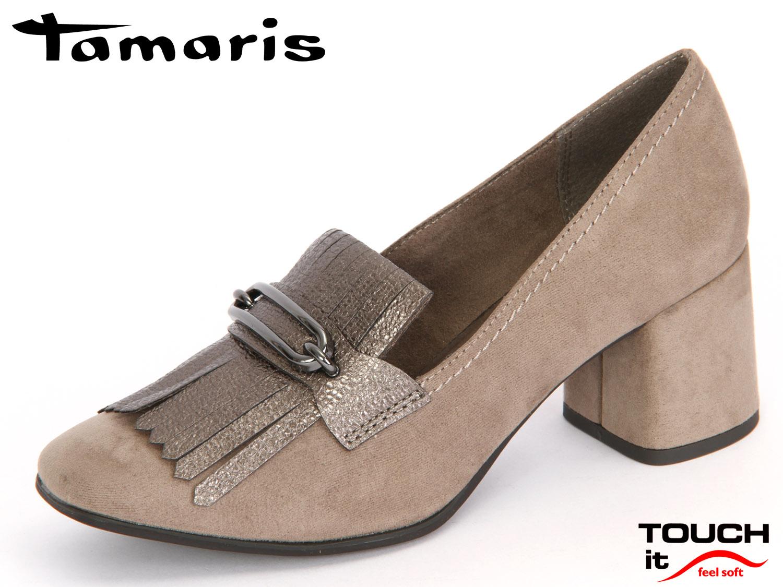 tamaris 1 24322 37 921 pepper pewter materialmix textil synthetik schuhhaus kocher gute. Black Bedroom Furniture Sets. Home Design Ideas