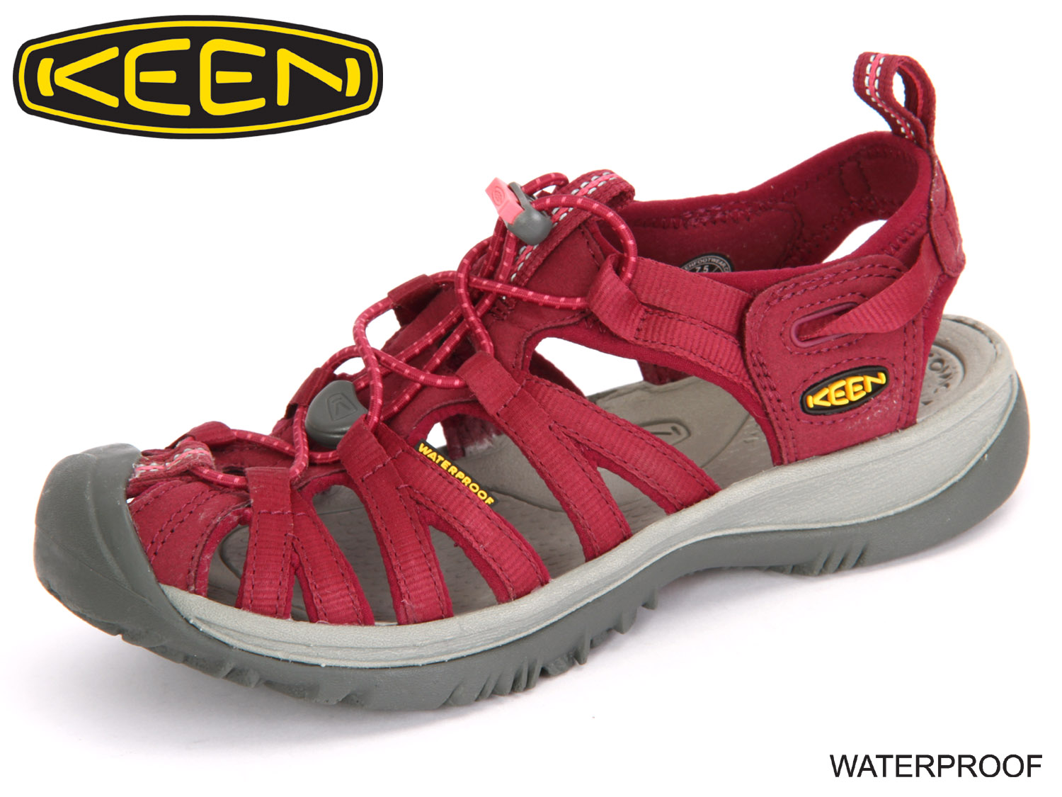 low priced b5962 446ce Keen Whisper 1012229 beet red honeysuckle