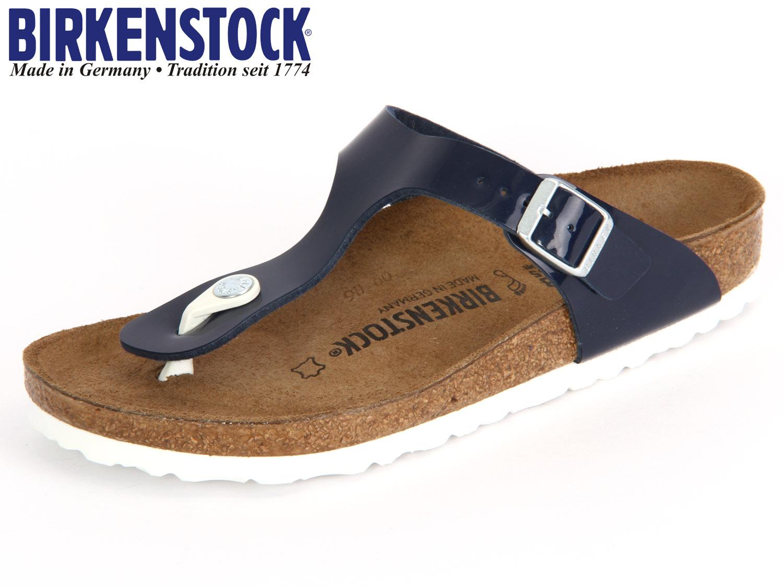 ed97930e92637c Birkenstock Gizeh 1005301 dress blue Patent Birkoflor