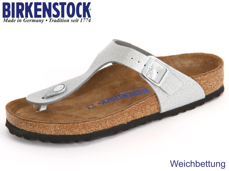 Birkenstock Gizeh Weichbettung (schwarz / 40) WEgF9Z