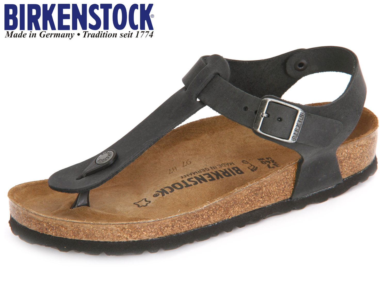 hot sale online 3fb69 18c80 Birkenstock Kairo 147111 black Leder Oiled