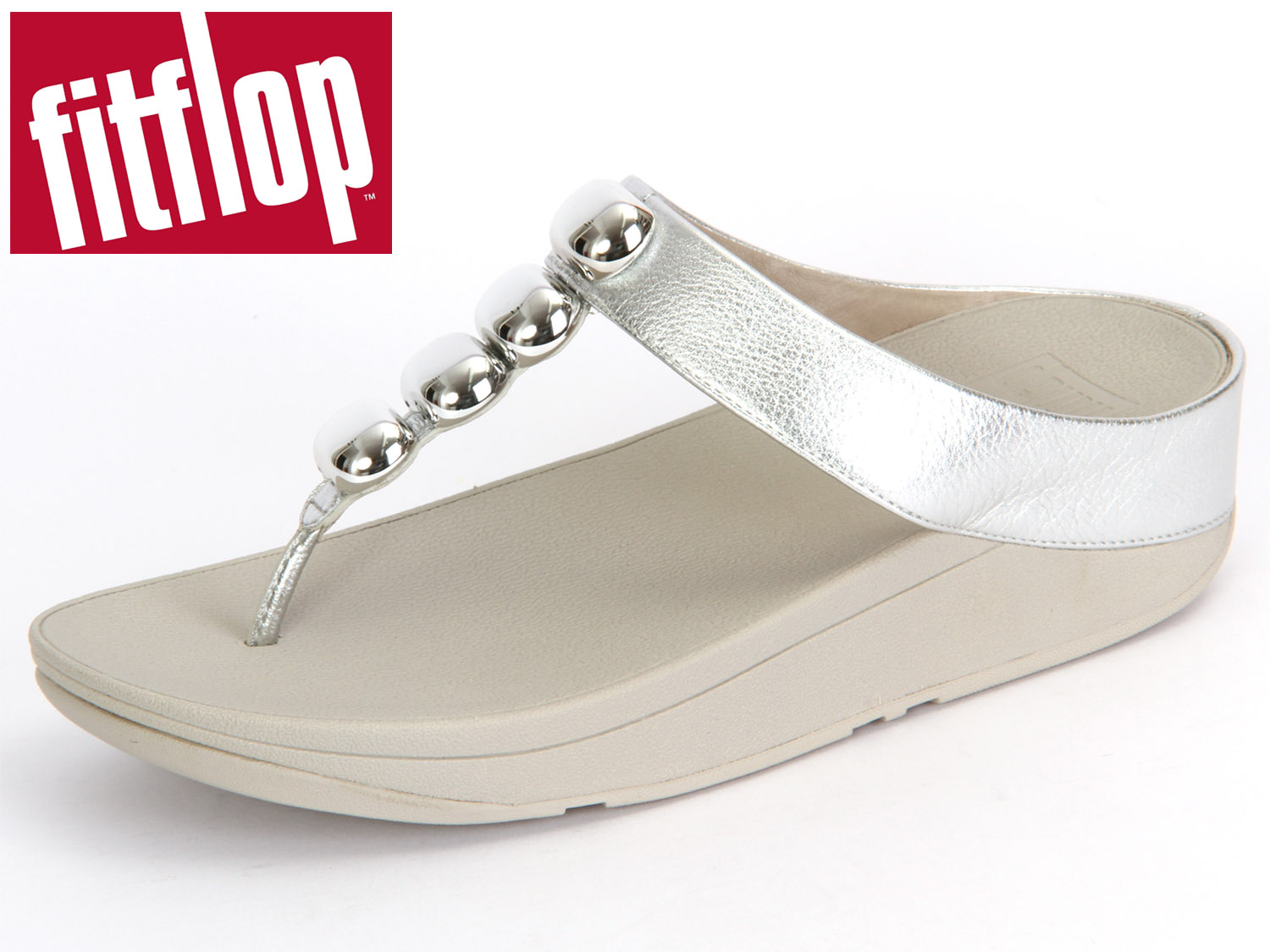 competitive price 0a869 20ee2 fitflop Rola E77-011 silver