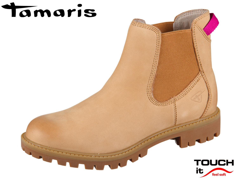 Designer | Tamaris 25401 Beige Stiefeletten Damen Online
