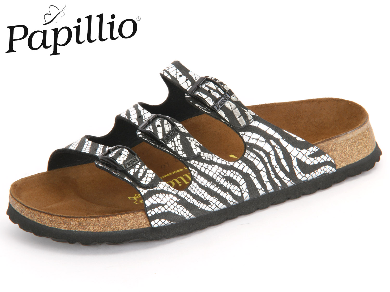 a95f04fc1ae05 Papillio Florida 322323 schwarz zebra black silver Birkoflor