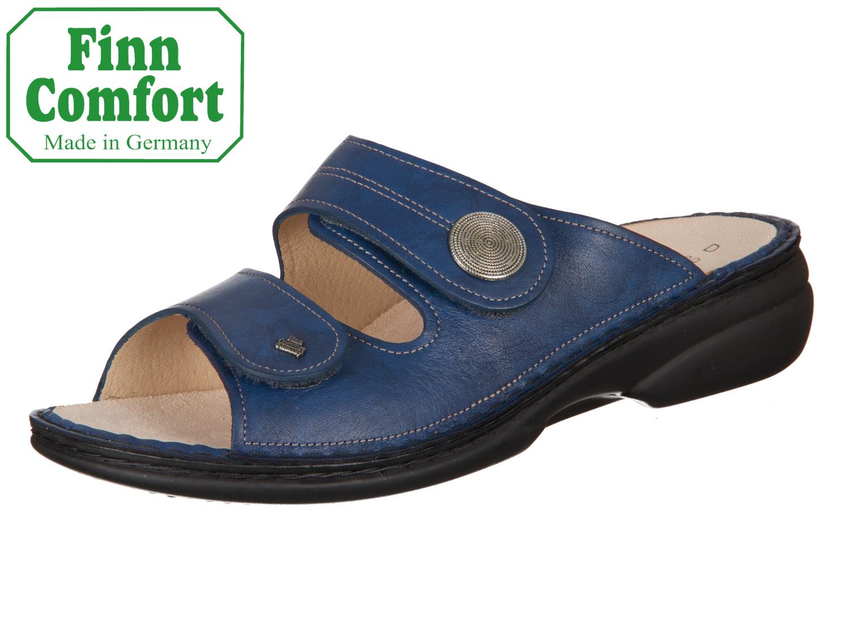 Finn Comfort Pantolette Sansibar blau/Missouri Günstige Online BfBJ1D