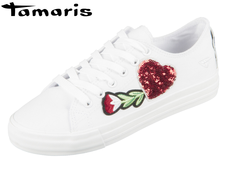 d1ffb320f4caf4 Tamaris White Valentin 1-23633-20-135 white valentin Textil ...