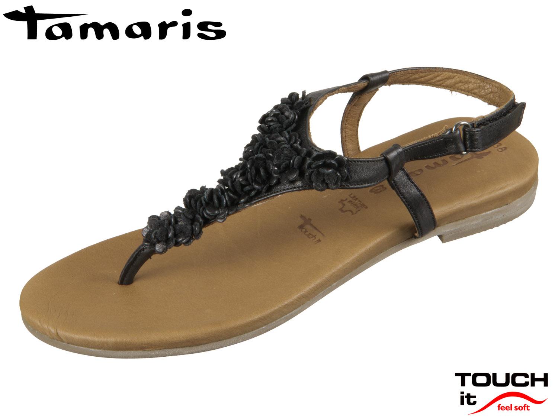 Tamaris 1 28121 20 001 black Leder