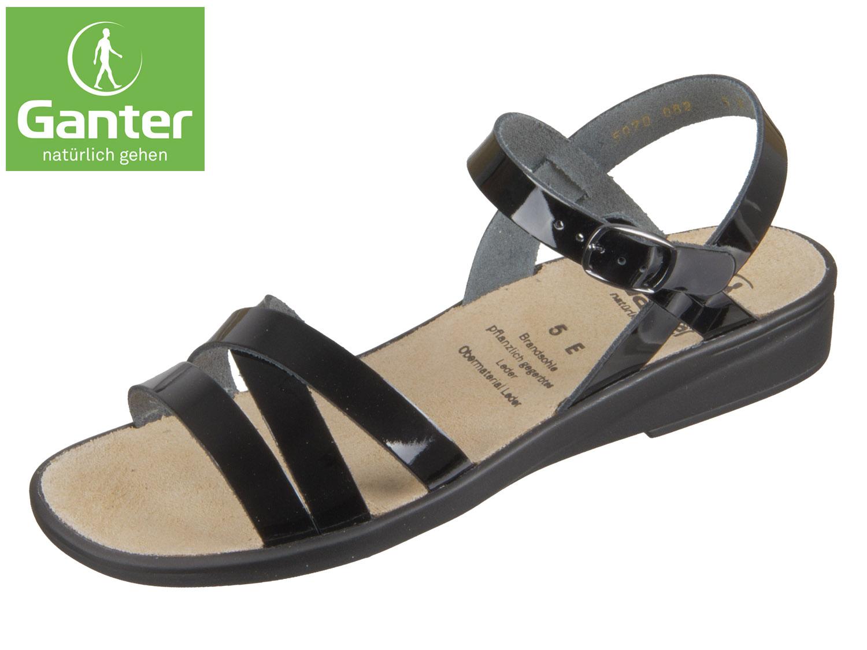 Günstiger Preis Top-Qualität Ganter Sonnica 20 2814-0100 schwarz Dixilack-Leder Finish Günstig Online Frei Versandkosten Bester Platz 5SEDAKfV