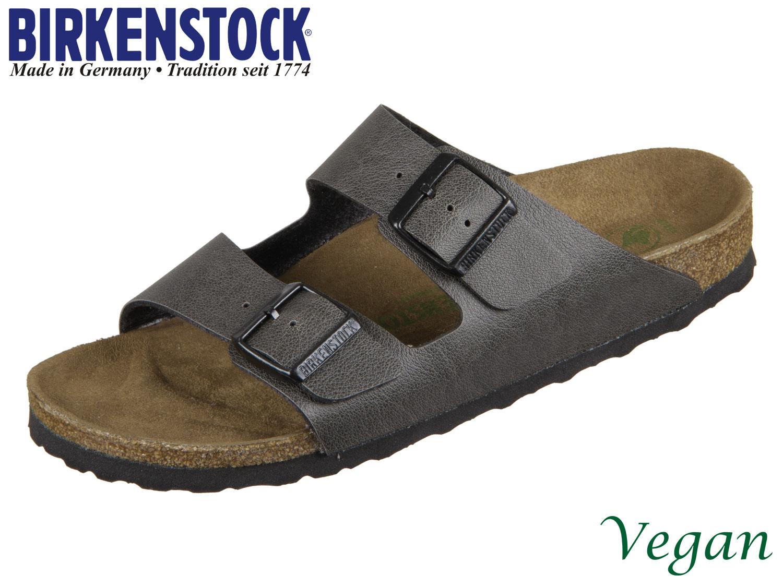 1c8a9b4c82f4ae Birkenstock Arizona 1009367 anthracite Birkoflor Pull Up Vegan ...