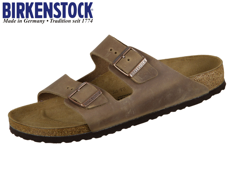 79481299951 Birkenstock Arizona 352203 tabacco brown Nubuk oiled | Schuhhaus ...