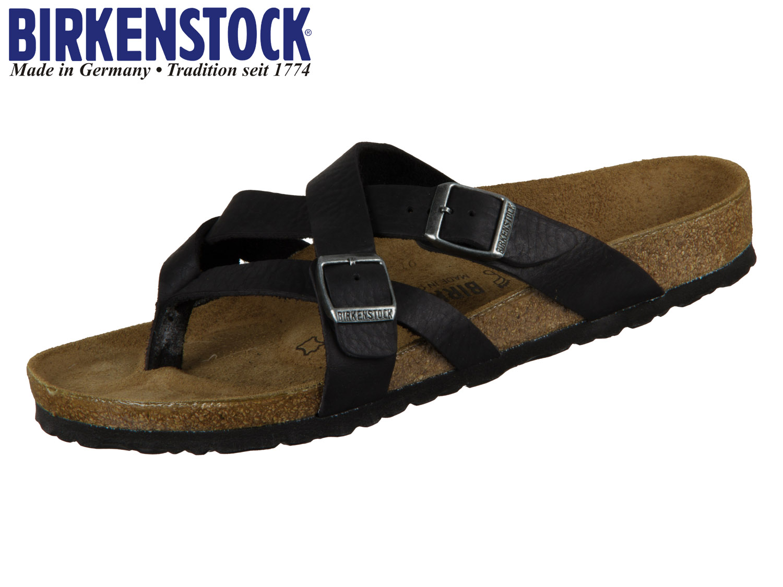 12713e2e9a07c4 Birkenstock Temara 1008549 black Naturleder Canberra