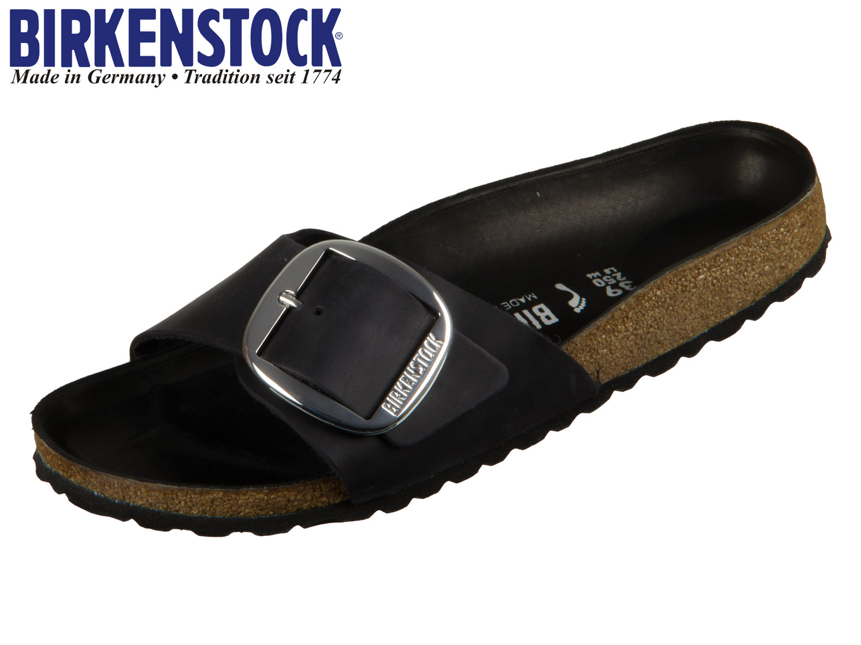 Birkenstock Pantolette SCHMAL MADRID BIG BUCKLE BLACK