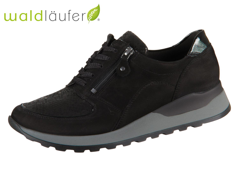top brands super cute classic styles Waldläufer Hiroko Soft H64007 307 001 schwarz Denver Taipei Krokusstrass